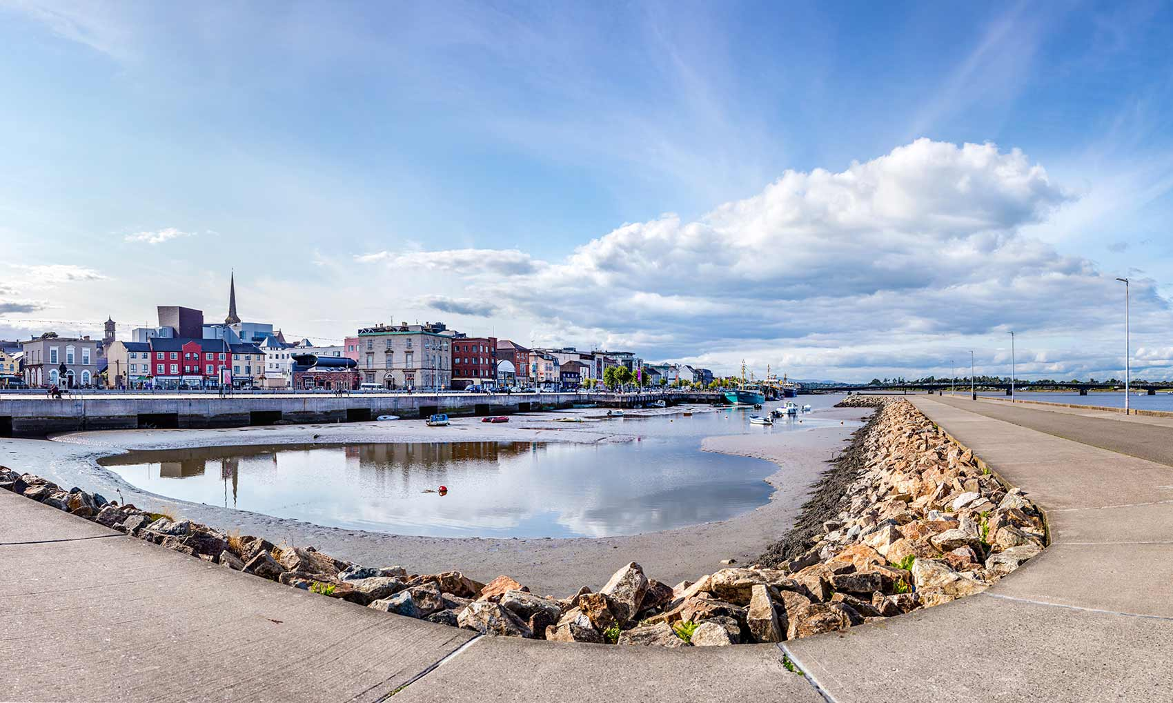 Quays in Wexford Town