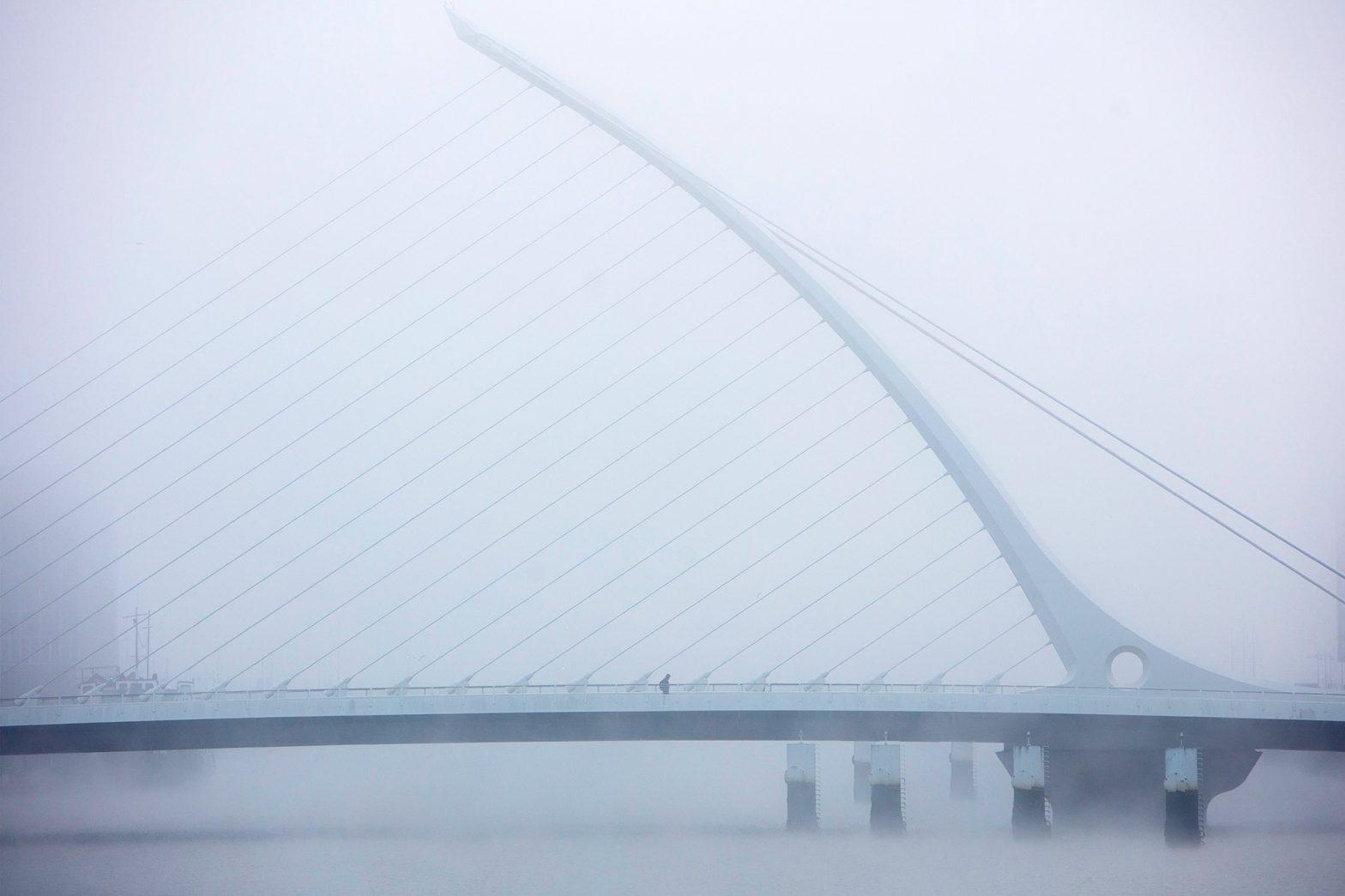 Foggy Dublin Photography
