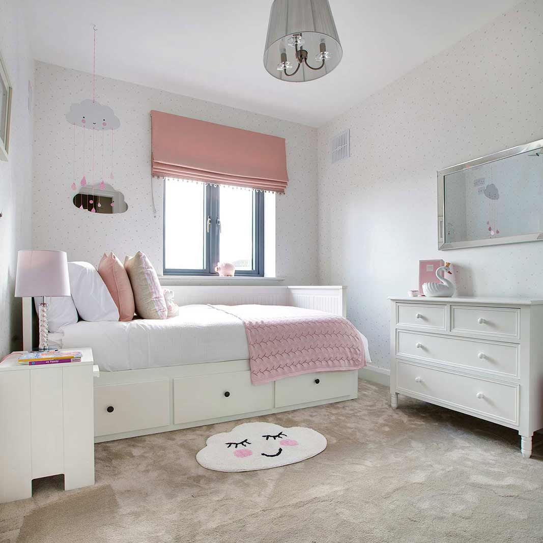 Interior designed childrens bedroom