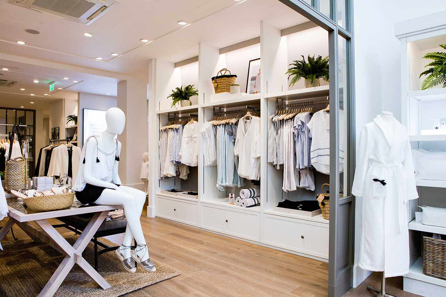 Clothing retail store