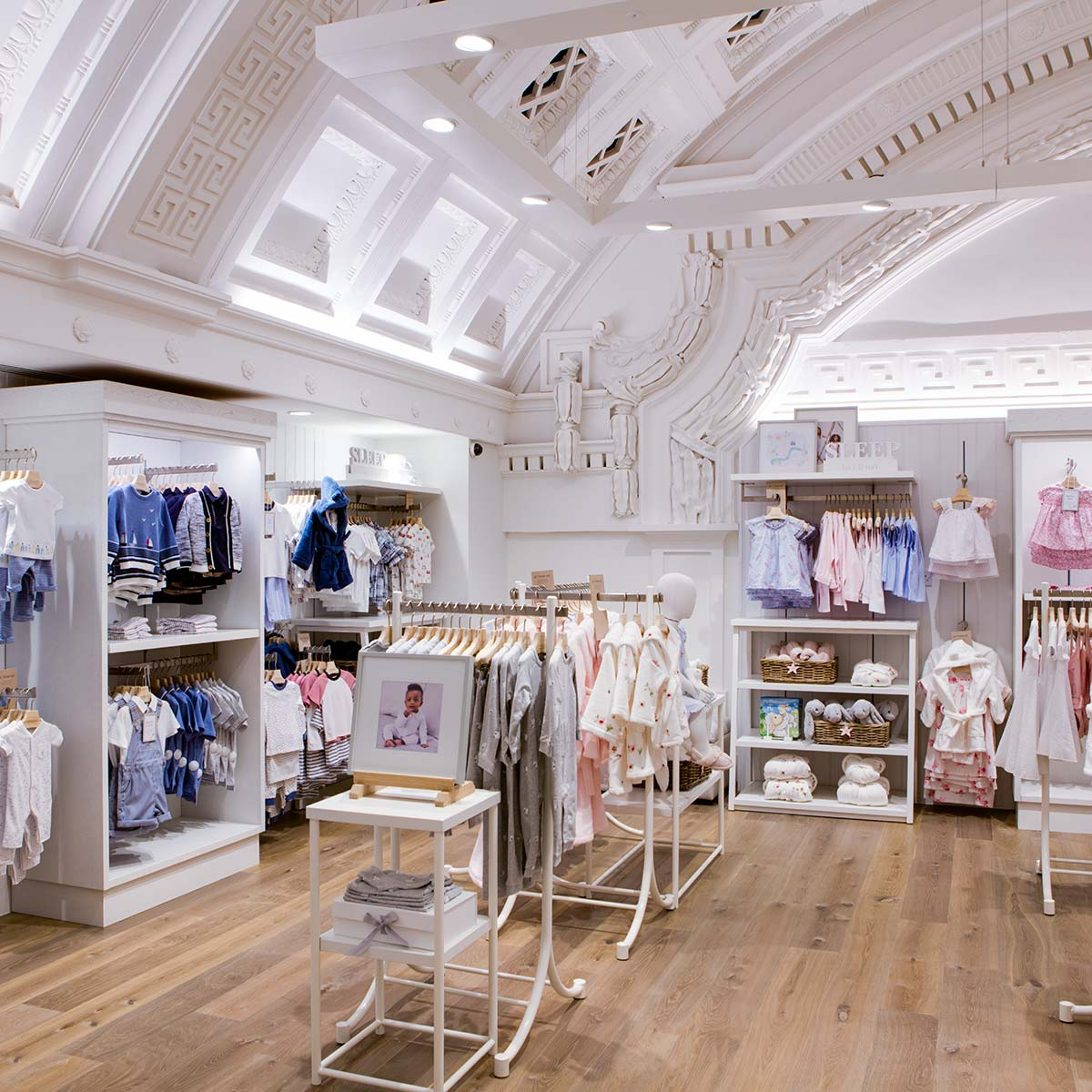 Baby clothing retail store